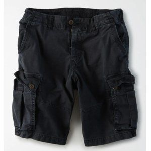 American Eagle Dark Gray Classic Cargo Shorts